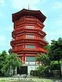 山口観音の八角五重塔(所沢市上山口) - panoramio.jpg