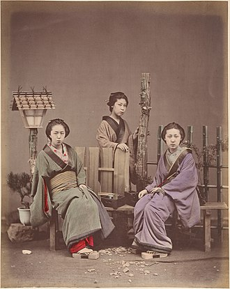 Suzuki Shin'ichi I - Image: Japanese Women in Traditional Dress MET DP155390