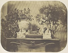 -Table Top Still Life with Model Cathedral and Small Sculptures- MET DP109566.jpg