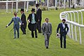 003 - Epsom Derby 2015 - Frankie Dettori, Ryan Moore, William Buick walking the course (18563500056).jpg