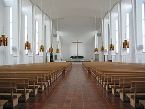 Lakeuden Risti Church - Image: 004 Lakeuden Risti alttarisuunta