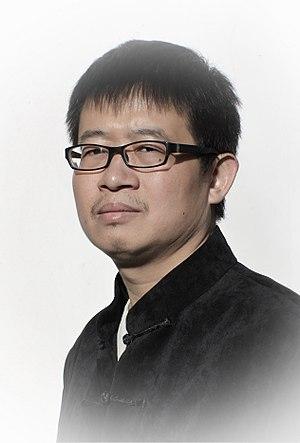 Cao Shui - Shawn Cao portrait by Jarosław Pijarowski, (Beijing 2017)