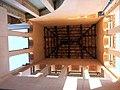 012 Museu de Tortosa, antic escorxador, torre des de l'interior.JPG