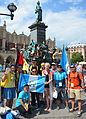 02016 1616 Die Teilnehmer bei Weltjugendtag 2016 in Krakau.jpg