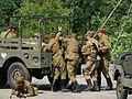 09 Der Tod des polnischen Generals Swierczewski (Wiederaufführung, 2012).JPG