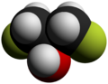 1,3-Difluoro-2-propanol-3D-vdW-by-AHRLS-2012.png