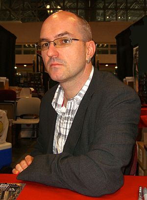 Antony Johnston - Johnston at the 2012 New York Comic Con.