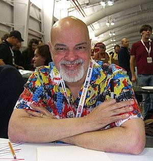 George Pérez - Pérez at the 2012 New York Comic Con
