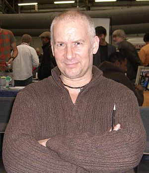 Kevin Maguire (artist) - Maguire at the Big Apple Convention in Manhattan, October 18, 2009