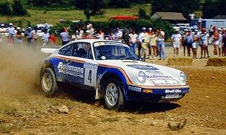 Henri Toivonen - Toivonen driving a Porsche 911 SC RS at the 1984 Mille Pistes