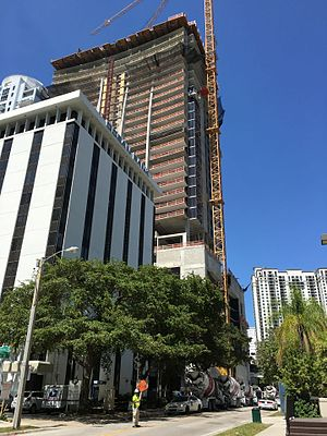 1010 Brickell - Image: 1010 Brickell under construction