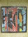 1220 Saikogasse 6-8 - Rudolf Köppl-Hof - Stg 20 - Glasmosaik Farbige Komposition von Hans Staudacher 1967 IMG 1027.jpg