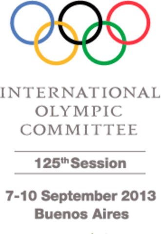 125th IOC Session - The official banner of the 125th IOC Session.