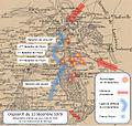 12 décembre 1870 Carte du dispositif de défense de Bernay.jpg