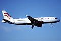 134bo - Air Europe Airbus A320-214; I-PEKH@ZRH;23.06.2001 (5553276080).jpg
