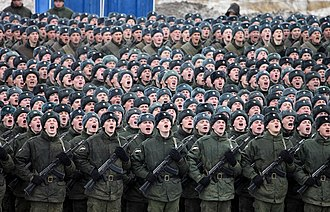 ODON - ODON division servicemen from Russian Internal Troops. Photo by Vitaly Kuzmin