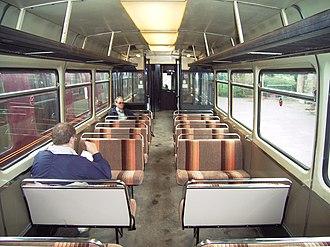 British Rail Class 141 - Image: 141113Interior