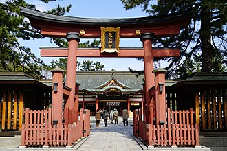 Kehi Shrine - Nakatorii of Kehi Shrine