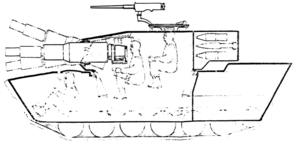 152mm Gun, ARAAV, Amphibious (side).png