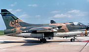 166th Tactical Fighter Squadron - Ling-Temco-Vought A-7D-13-CV Corsair II 72-0260