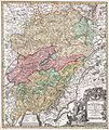 1716 Homann Map of Burgundy, France - Geographicus - Burgundiae-homan-1716.jpg