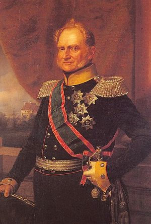 Henry, Duke of Anhalt-Köthen - Portrait of Henry by Franz Krüger