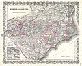 1855 Colton Map of North Carolina - Geographicus - NorthCarolina-colton-1855.jpg