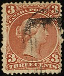 1868ca 3c Canada used Yv21 SG58 brown-red.jpg
