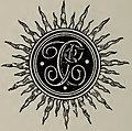 1892 Logo of The Footlight Club, Jamaica Plain, 1877-1892- Ours (IA 18771892ours00unse) (page 4 crop).jpg