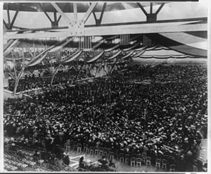Chicago Coliseum - 1896 Democratic National Convention