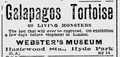 1898 WebstersMuseum BostonEveningTranscript May14.png
