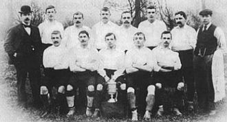 Nottingham Forest F.C. - The 1898 Cup-winning squad
