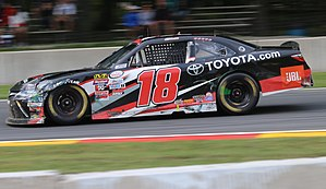 Christopher Bell (racing driver) - Bell's No. 18 Xfinity car at Road America in 2017
