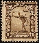 1910 1c Costa Rica used Yv65 Mi63.jpg