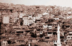 1917 Great Ankara Fire - Bentderesi, Ulus (1917)