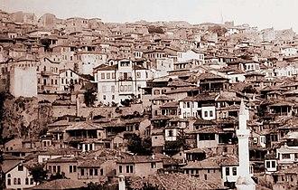 1917 Great Ankara Fire - Bentderesi, Ulus (1917)