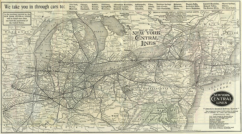 1918 NYCRR map only