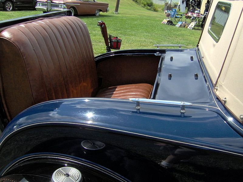 File:1931 Ford Model A roadster rumble seat.JPG