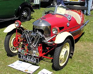 Matchless - 1934 Morgan Super Sports with Matchless engine