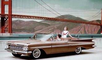 Chevrolet Impala - 1959 Chevrolet Impala Convertible