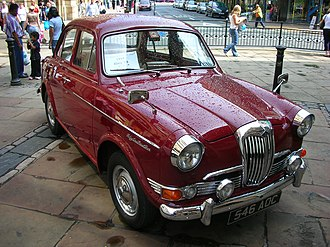 Riley One-Point-Five - Image: 1959 Riley 1.5
