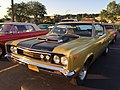 1970 AMC Rebel - The Machine - muscle car in Golden Lime AMO 2015 meet 1of8.jpg