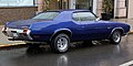 1971 Oldsmobile Cutlass Supreme Holiday Coupe rear, modified.jpg
