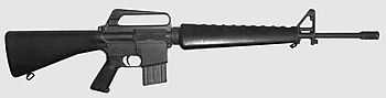 English: 1973 Colt AR-15 SP1 Sporter rifle