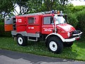 1981 Unimog 416 (BX RB 13) fire engine, 2012 HCVS Tyne-Tees Run (2).jpg