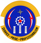 1985 Communications Sq emblem.png