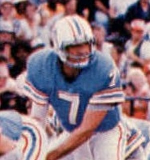 Dan Pastorini - Pastorini with the Houston Oilers in 1978