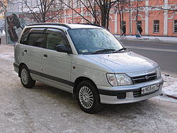 A 1998 JDM Daihatsu Pyzar fitted with aftermarket accessories enjoys a second life in Russia