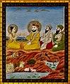 19th century Janam Sakhi, Guru Nanak meets the Vishnu devotee Praladh.jpg