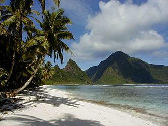 Climate of the United States - A view of Ofu beach on Ofu-Olosega in American Samoa